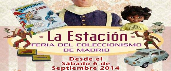Feria del coleccionismo de juguetes Madrid