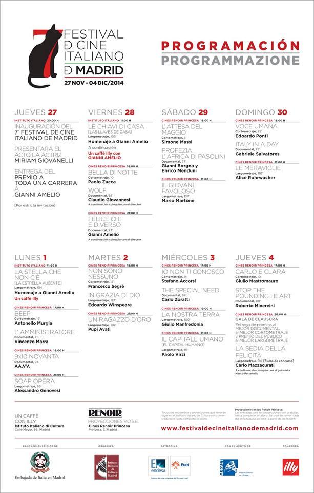 FestivaldeCineItaliano2014