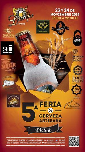FeriaDeLaCervezaArtesanaMadrid
