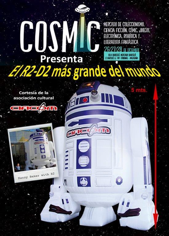 R2 en Cosmic Madrid 2014