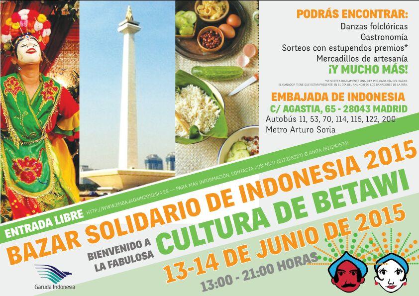 Bazar Solidario Indonesia