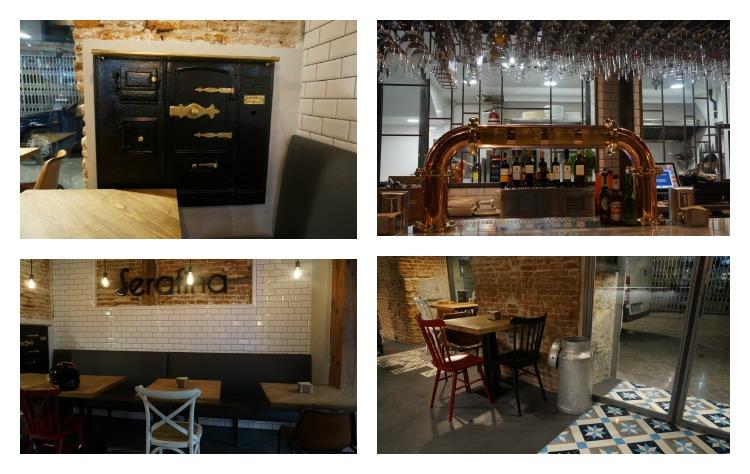 Interior Serafina Cocina Bar