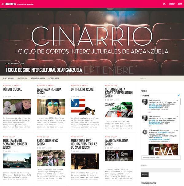 Cinarrios- Ciclo de Cortos interculturales Arganzuela