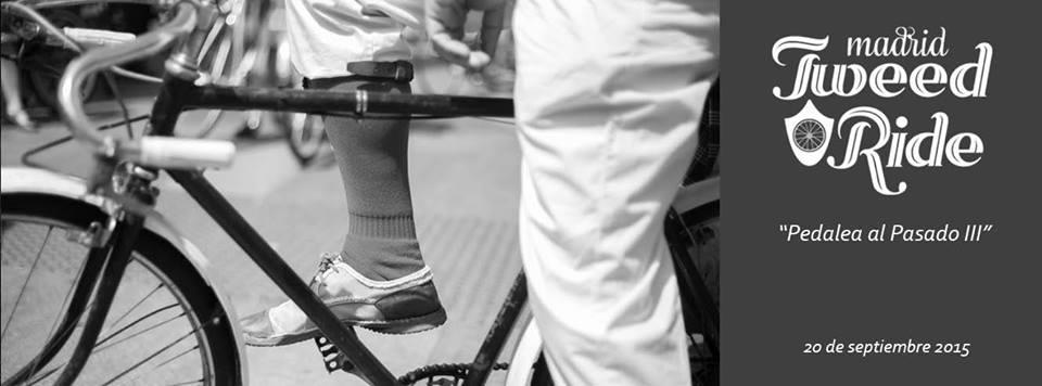 Tweed Ride Madrid 19 septiembre