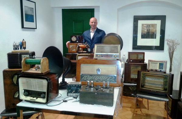 radios antiguas exposición