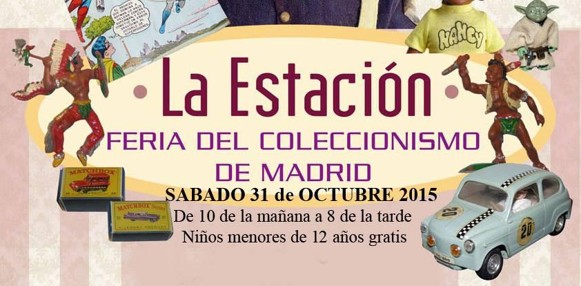 Feria Coleccionismo Juguetes Madrid