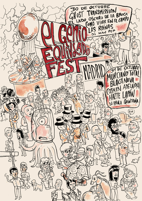 Festival El Genio Equivocado