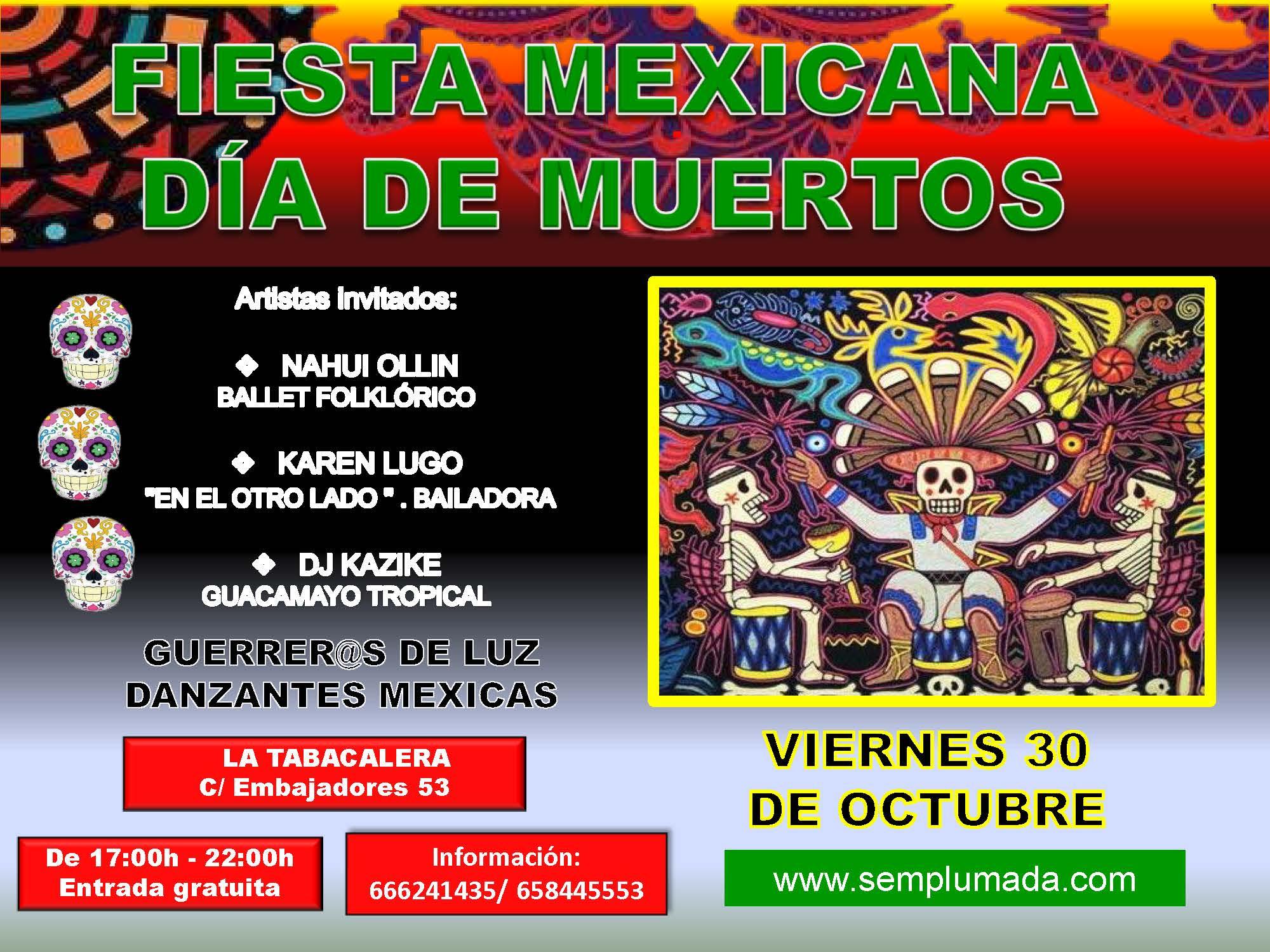 Fiesta de los Muertos Mexicana Tabacalera