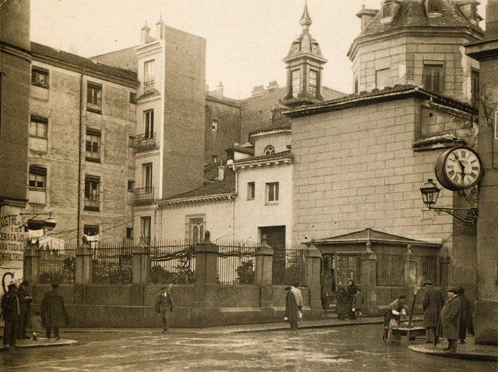 1920. Plaza del Angel