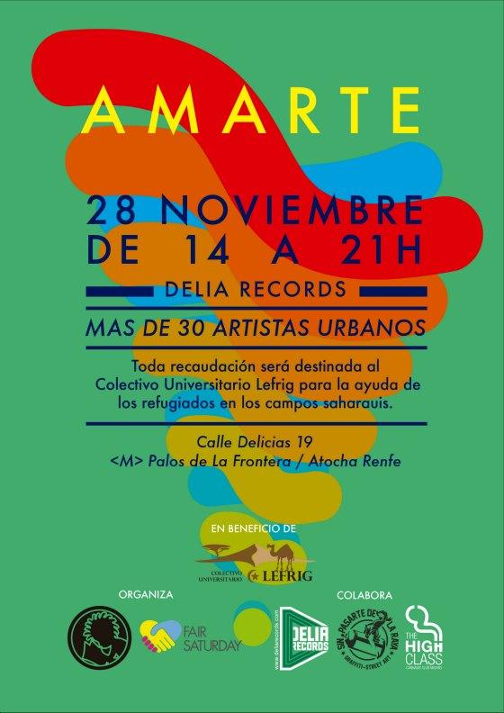 Amarte Arte Urbano - Madrid