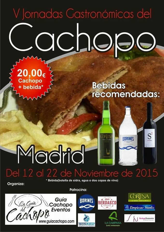 Jornadas Gastronomicas Cachopo 2015