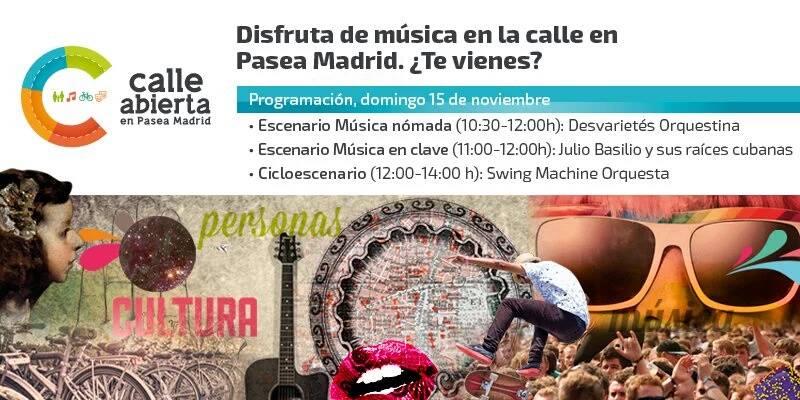 Pasea Madrid 15 noviembre