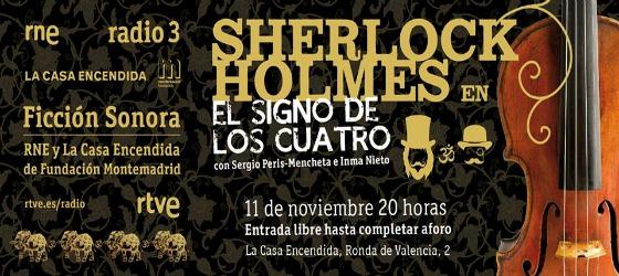 radioficcion_sherlock_holmes_la Casa Encendida