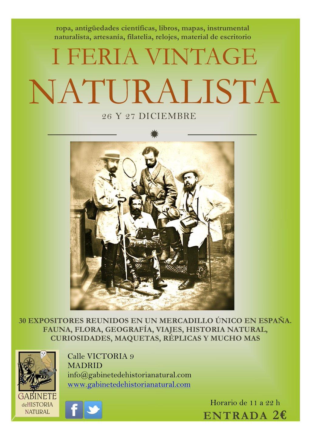 Feria Vintage Naturalista