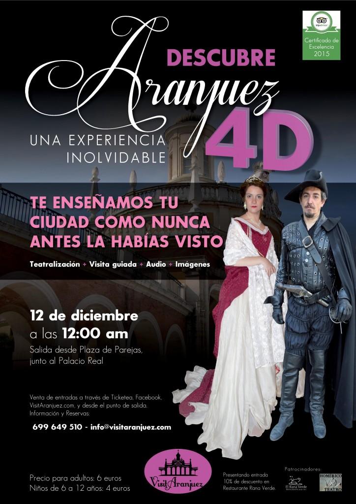 Visita teatralizada Aranjuez