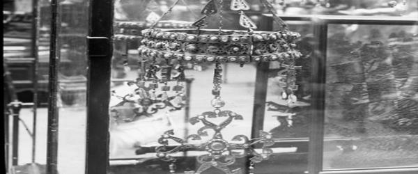 aparece la corona de suintila en el transcurso de las obras del museo de las colecciones reales