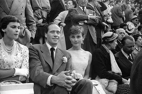1955. Audrey Hepburn en las Ventas