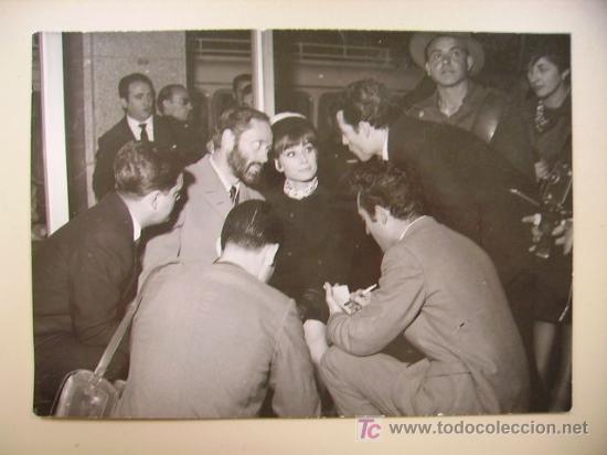 1964. Audrey y Mel Ferrer en Madrid