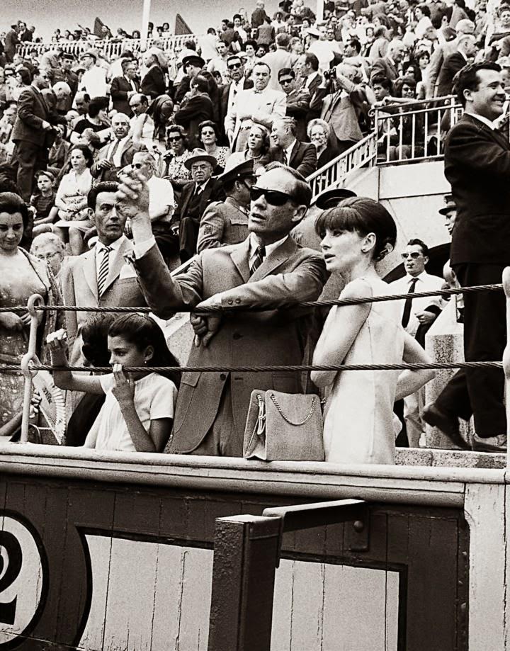Audrey Hepburn en Las Ventas