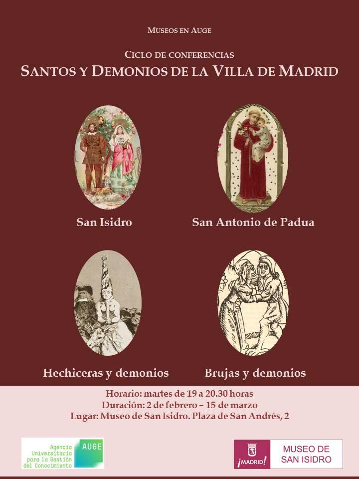Conferencias Santos y Demonios de Madrid