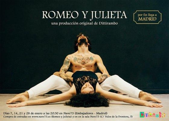 Romeo Y Julieta Danza