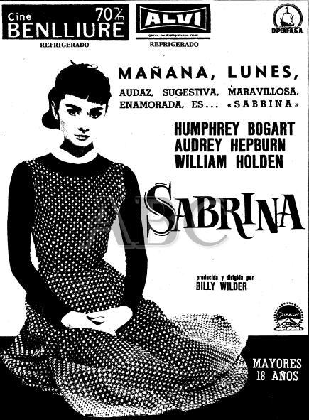 Sabrina cine Madrid