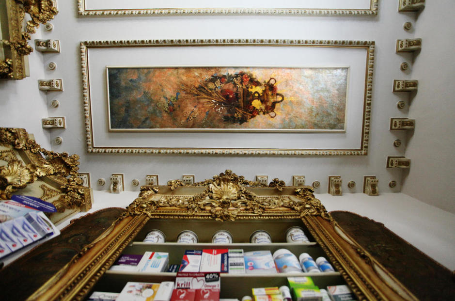 Farmacia Deleuze interior techo. jpg