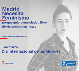 Dia de la Mujer Actividades Madrid