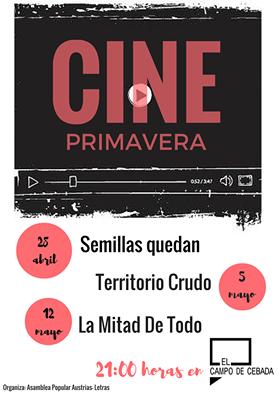 Cine Campo de la Cebada Primavera