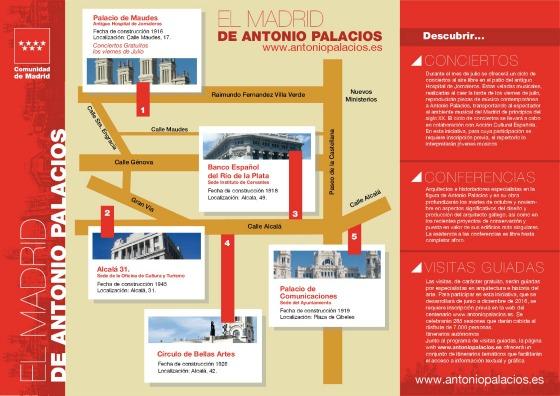 El Madrid de Antonio Palacios