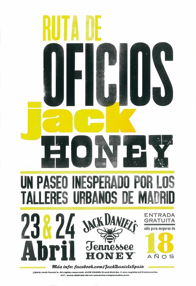 Ruta de los oficios Jack Daniels