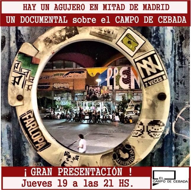 Documental Campo de la Cebada