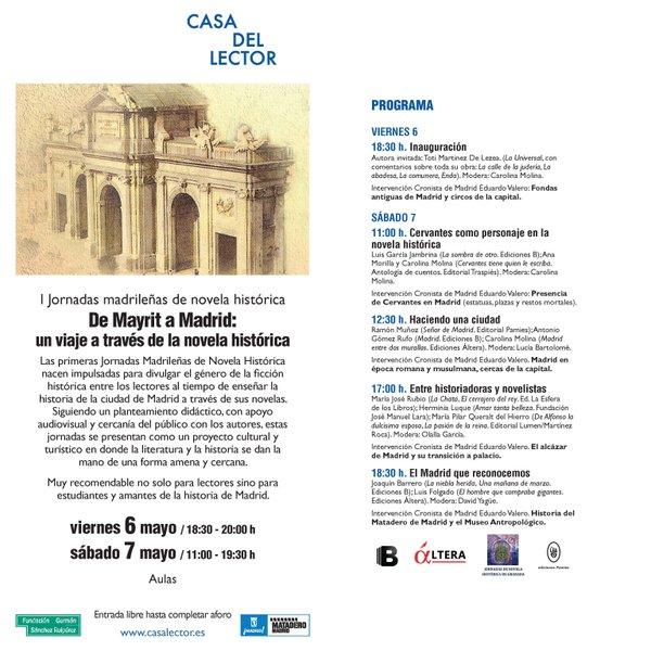 jornadas novela historica madrid