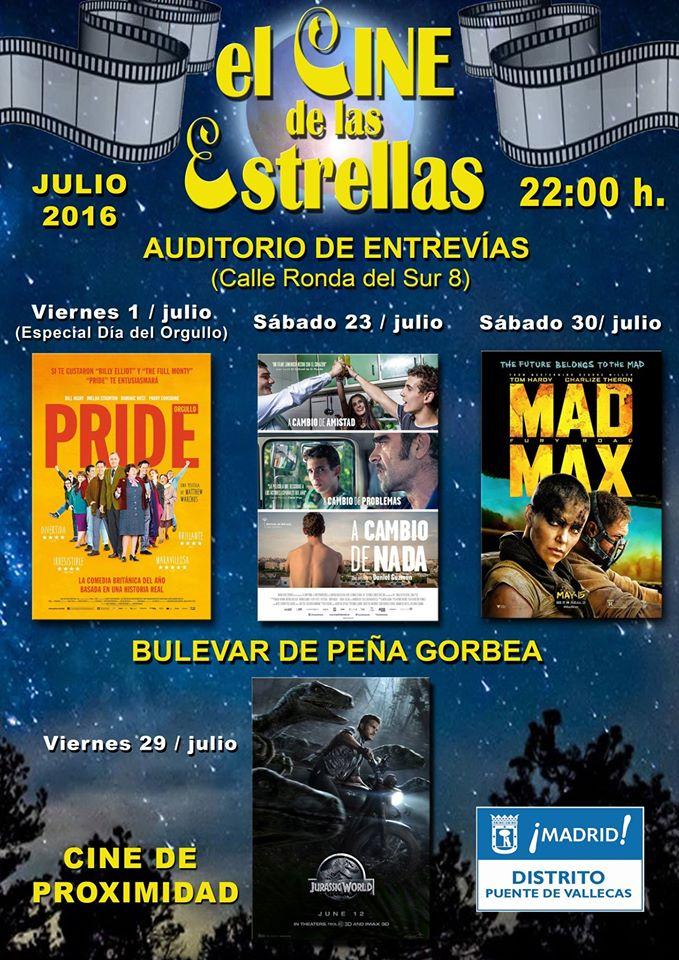 Cine Bajo las Estrellas Vallecas