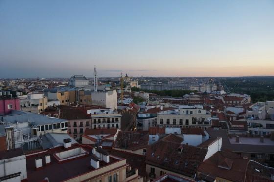 Atardecer Hotel Emperador madrid