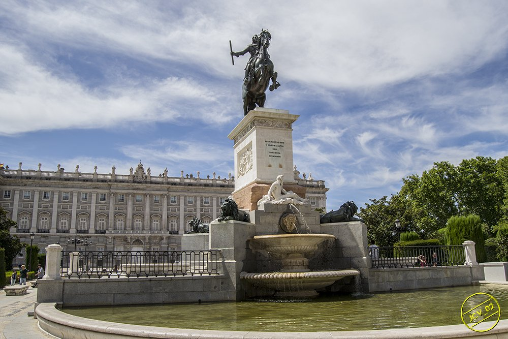 Plaza de Oriente y Palacio Real