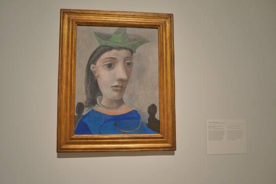 Mujer con sombrero verde- Picasso