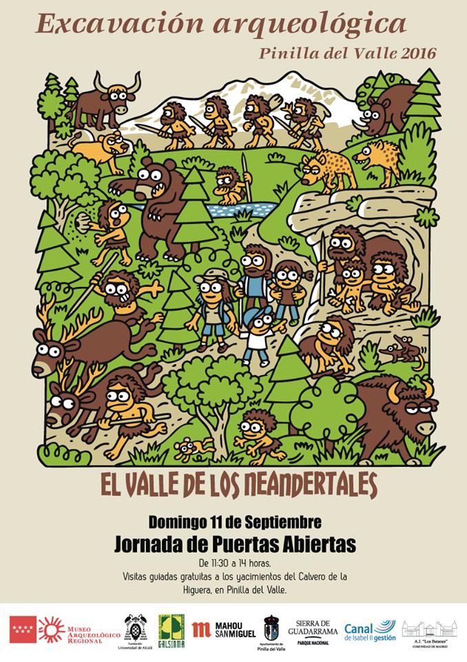 Jornada de puertas abiertas a los yacimientos de Pinilla del Valle