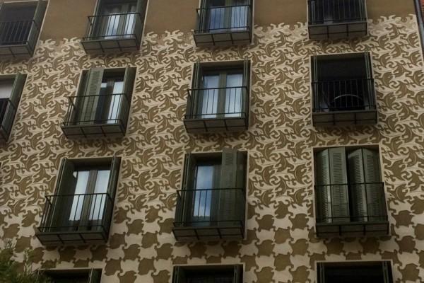 La fachada que homenajea a Escher