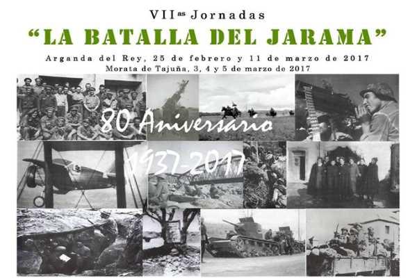 Arganda del Rey y Morata de Tajuña celebran las VII Jornadas de la 'Batalla del Jarama'