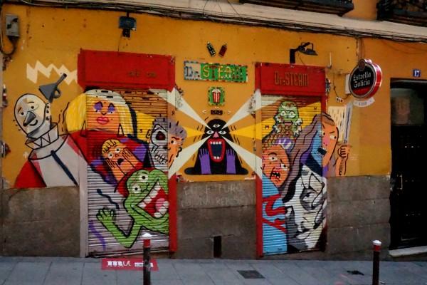 Del 8 al 28 de mayo Lavapiés se convierte en una galería abierta de arte urbano
