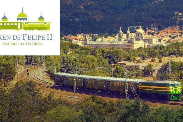 Un tren histórico hacia El Escorial: El Tren de Felipe II