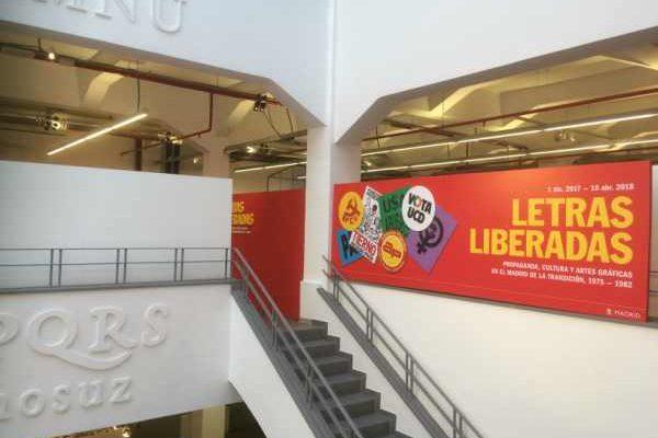 Una exposición en la Imprenta Municipal nos muestra las 'Letras Liberadas' en el Madrid de Transición