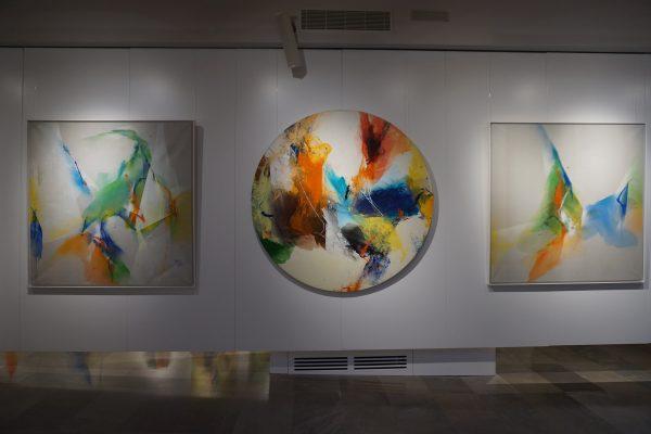 El arte sacro abstracto de Kim en Joong llega a Madrid