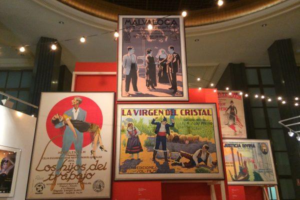 Exposición 'Memoria de Luz', un paseo por la historia del cine español