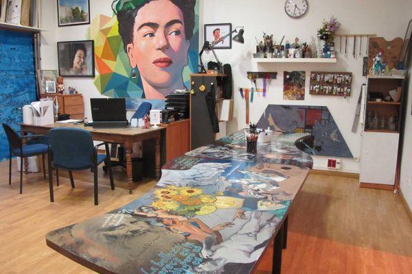 Los artistas nos abren las puertas de sus talleres en una nueva edición de 'Los Artistas del Barrio'