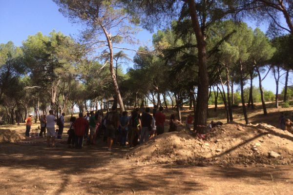 Jornada de Puertas Abiertas a la excavación arqueológica de la Guerra Civil