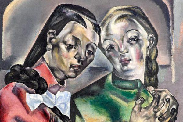 Dos mujeres y un bodegón en el Museo del Greco
