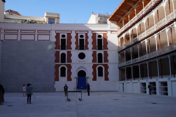 El frontón Beti-Jai tras su restauración